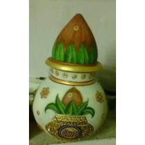 Handmade Marble Pitcher With Coconut