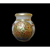 Handmade Marble Pitcher With Golden Design