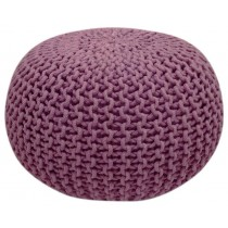 Handmade Round Knitted Floor Pouf