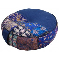 Handmade Stylish Blue Cushion