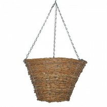 Hanging Bucket Planter With Steel Chain