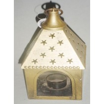 Hanging Candle Lantern, 9 Inches