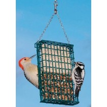 Hanging Double Suet Cake Holder Bird Feeder