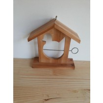 Hanging Fir Wood Bird House