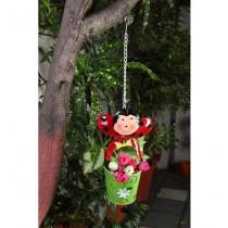 Hanging Ladybug Pot