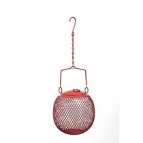 Hanging Metal Ball Design Bird Feeder