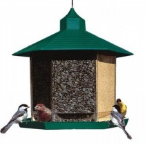 Hanging Plastic Gazebo Bird Feeder