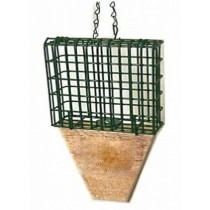 Hanging Tail Prop Suet Bird Feeder