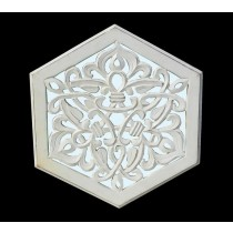 Hexagon Shape Mirror Panel