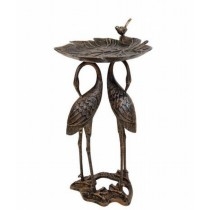 High Quality Aluminum Bird Bath