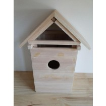 High Quality Fir Wood Decorative Bird House