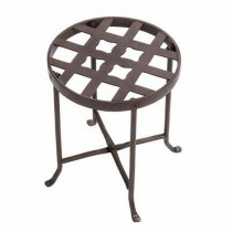 High Quality Metal Flowers Plant Stand 12 Inch