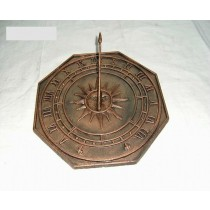 High Quality Octagonal Shape Sundial