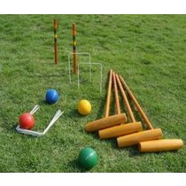 High Quality Wooden Croquet Set