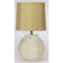 Iron Base Natural Mother Of Pearl Table Lamp