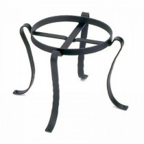 Iron Black Powder Coated Patio Flower Pot Stand
