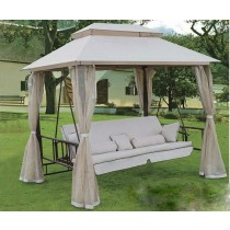 Iron Gazebo with The Tent and Benches(260×175×250 CM)