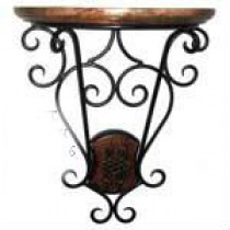 Iron & Mango Wooden Decorative Wall Bracket