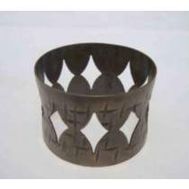 Iron Napkin Ring cut out design
