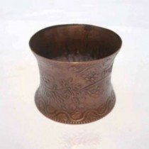 Iron Napkin Ring embossed design