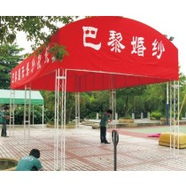 Iron Space Frame Tent