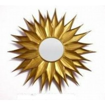Iron Sunflower Mirror