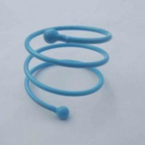 Iron wire Napkin Ring Turquoise Color