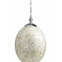 Iron With Mother of Pearl Pendant Hanging Lamp