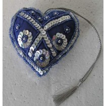 Jeri Hanging Christmas Heart 3.5x3.5 Inch