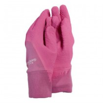 Ladies medium Pink Gardener Gloves