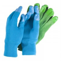 Ladies Reinforced Fingertip Garden Gloves