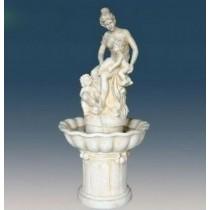 Lady Statue White Large Garden Fountain