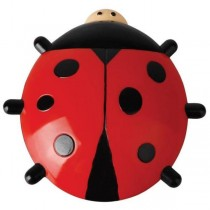 Ladybug Shaped Window Thermometer