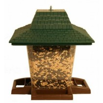 Lantern Shape Plastic Hanging Bird Feeder