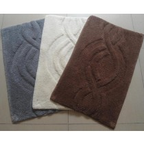 Large-Curved Design Bathmats