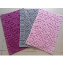 Large-Soft Colored Bathmats