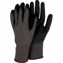 Large All Purpose Worker Black Gloves