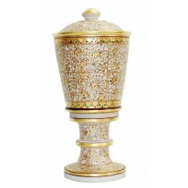 Large Antique Style Table Lamp In Meenakari Work