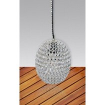 Large Ball Glass Pendant Lamp