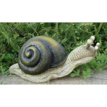Large Crawling Snail Garden Ornament