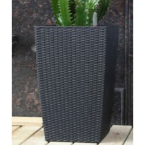 Large Decorative Rattan Pot