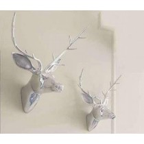 Large Deer Head Wall Decoration 44Cm