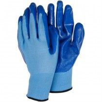 Large Size Blue Planting Gloves