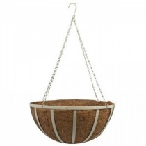 Large Steel Hanging Basket with Chain
