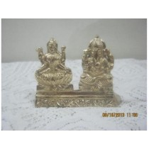 Laxmi and Ganesh Idols 4""