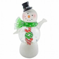 LED Acrylic Snowman Light