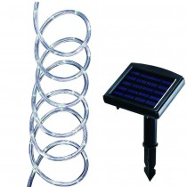 LED Clear Solar Rope Light