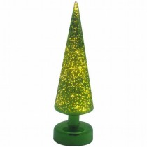 LED Mercury Glass Christmas Tree Light(Size 9 X 24.5 CM)