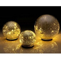 LED Mercury Glass Sphere Light(Set-3)