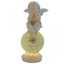 LED Polyresin Angel Light
